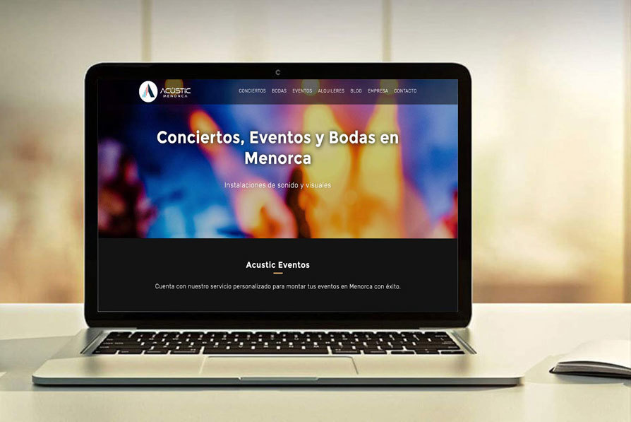 Acustic Menorca Marketing Online